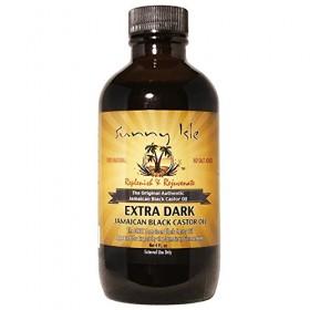 SUNNY ISLE Jamaican Extra Dark Castor Oil (huile de RICIN) 59ml