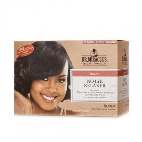 DR MIRACLE'S No-Lye Relaxer Kit Super