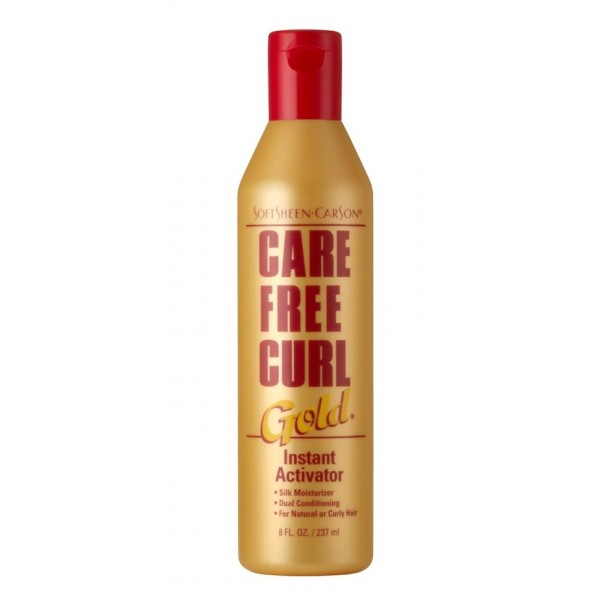 CARE FREE CURL Soin activateur boucles Gold 237ml (instant activator)