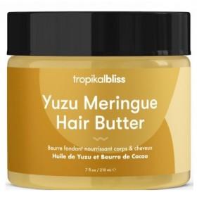 TROPIKALBLISS Beurre capillaire nourrissant YUZU & CACAO 200ml