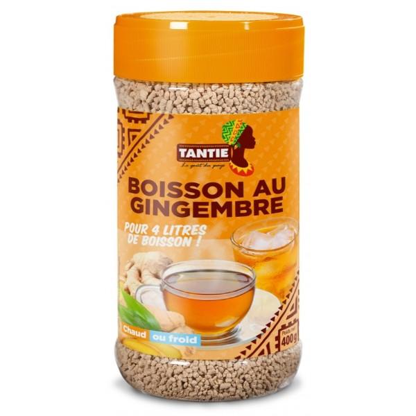 TANTIE Boisson instantanée GINGEMBRE 400g - SUPERBEAUTE.fr