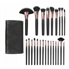 Set de pinceaux à maquillage 24 pièces