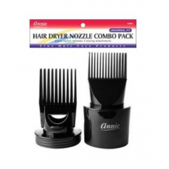 ANNIE 2 Embouts pour sèche cheveux HAIR DRYER NOZZLE