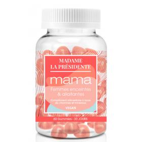 MADAME LA PRÉSIDENTE vegan food supplement MAMA (Cure 1 month)