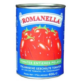 ROMABELLA Whole peeled tomatoes 400g