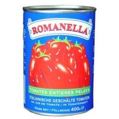 Tomates entières pelées 400g