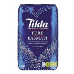 Riz long Pure Basmati TILDA 1kg