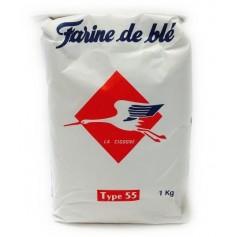LA CYGOGNE Farine de blé type 55 1Kg