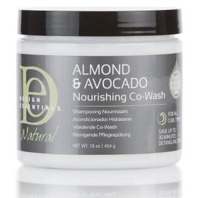 DESIGN ESSENTIALS COWASH nourishing Almond and Avocado (NOURISHING CO-WASH)