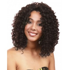 Bobbi Boss perruque MLF-19 CHOCOLATE (Lace Front) *