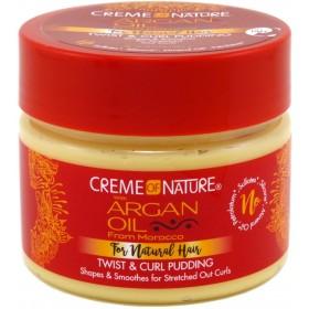 Creme of Nature Crème coiffante pour boucles Argan 326g (Pudding)