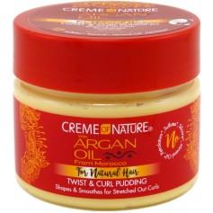 Crème coiffante pour boucles Argan 326g (Twist & curl pudding)