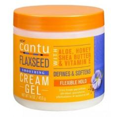 CANTU Crème définissante pour boucles GRAINE DE LIN 453g (Flaxseed cream gel)