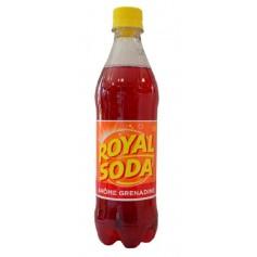 ROYAL SODA Boisson gazeuse saveur grenadine 50cl