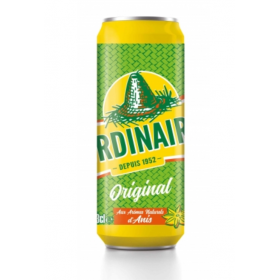 L'ORDINAIRE Carbonated soft drink with natural aniseed flavours 33cl