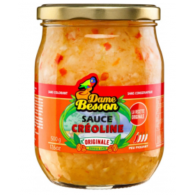 DAME BESSON Sauce créoline 500g
