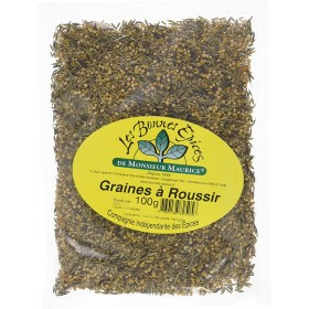 THE GOOD SPICES FROM MAURITIUS GRAIN Scorching Seeds 100g