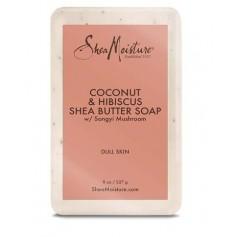 "Coconut & Hibiscus Clarifying Soap ""Brightening Soap"" 227g"