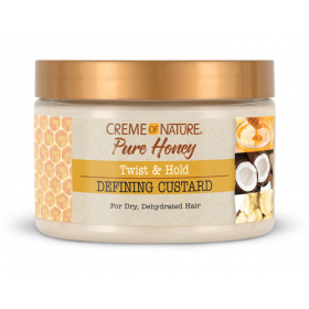 CREME OF NATURE Crème définition boucles PURE HONEY CUSTARD 326g
