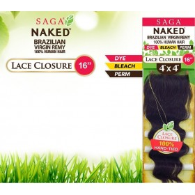 "SAGA Naked Closure 4''x4"" LOOSE DEEP 16"""