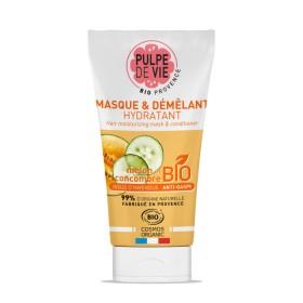 PULPE DE VIE Masque et démêlant hydratant Bio MELON & CONCOMBRE 150ml
