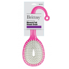 BRITTNY Brosse de douche MERMAID TAIL