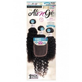 "NEW BORN tissage 4x4 BOHEMIAN WAVE 3PCS 14""16""18"" (ALI N GO)"