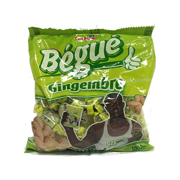 Bonbons gout gingembre100pcs BÉGUÉ