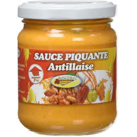 Sauce piquante antillaise GUAD'ÉPICES 200ml