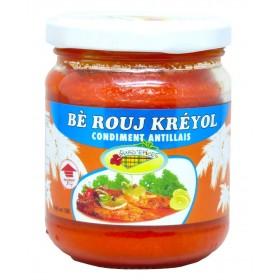 """Beurre rouge """"Bè Rouj Kréyol"""" GUAD'EPICES 190g"""