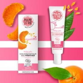 PULPE DE VIE Moisturizing face care cream Organic CLEMENTINE 40ml
