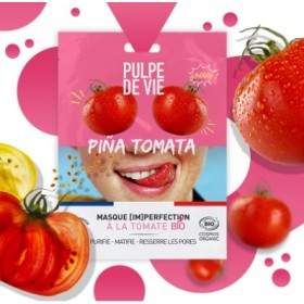 PULPE DE VIE Masque anti-imperfections Bio TOMATE
