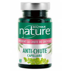 BOUTIQUE NATURE Complément alimentaire ANTI-CHUTE CAPILLAIRE 60 comprimés