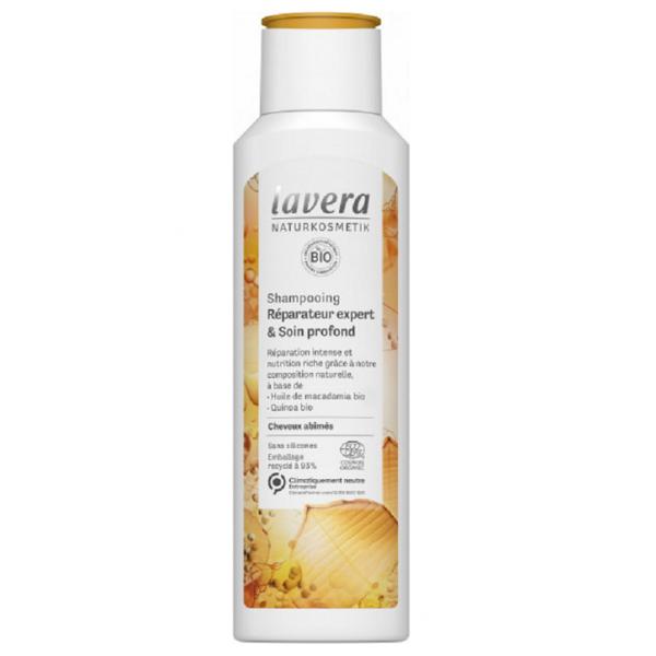 LAVERA Shampoing BIO réparateur expert & soin profond 250ml