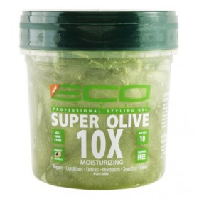 """ECO STYLER Gel hydratant et réparateur """"SUPER OLIVE 10X"""" 473ml"""