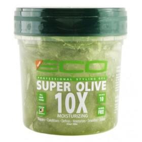 """ECO STYLER Gel hydratant et réparateur """"SUPER OLIVE 10X"""" 236ml"""