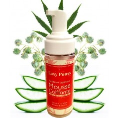 EASY POUSS Mousse coiffante CHANVRE, RICIN & KERATINE 150ml
