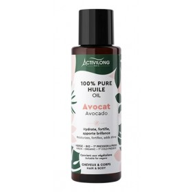 ACTIVILONG Huile d'AVOCAT 100% PURE 100ml