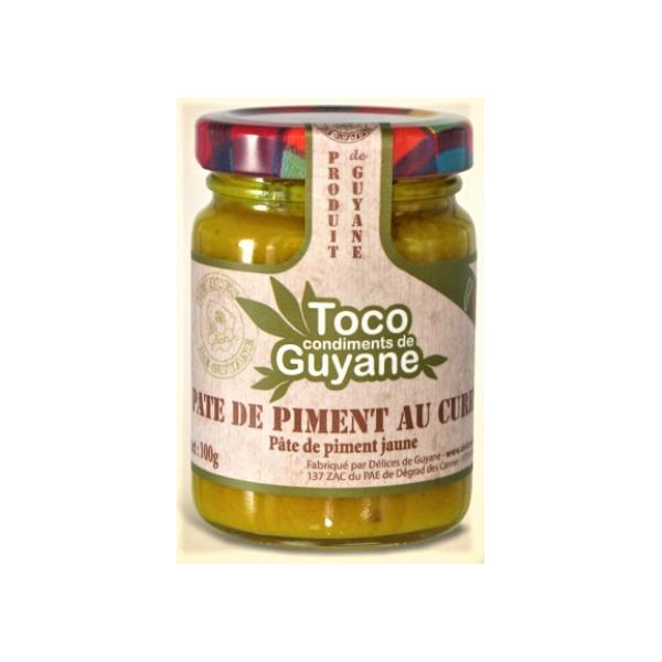 Délices de Guyane Pâte de piment CURRY 100g TOCO