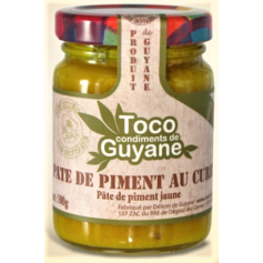 Pâte de piment Jaune au CURRY 100g TOCO