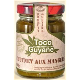 Délices de Guyane Chutney aux MANGUES 100g TOCO