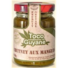 Chutney aux MANGUES 100g TOCO