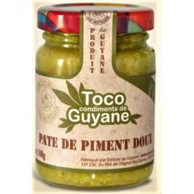 Délices de Guyane Mild chilli pepper paste 100g TOCO