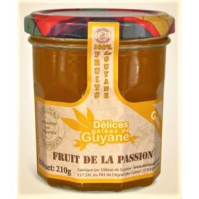 Délices de Guyane Gelée FRUIT DE LA PASSION 210g