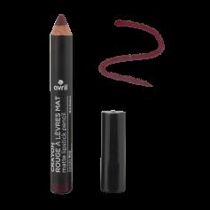 Crayon rouge à lèvres mat BIO 2g