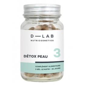 D-LAB NUTRICOSMETICS Nutritional Supplement DETOX PEAU (Cure 1 month)