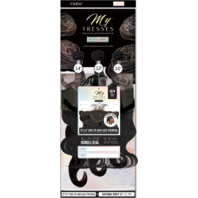 "OUTRE tissage NATURAL BODY 3PCS 14"", 16"", 18"" (MYTRESSES Black Label)"