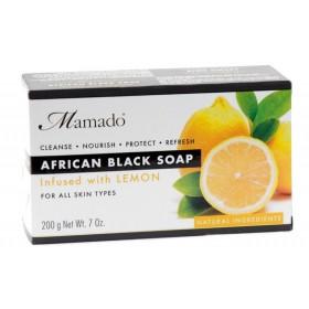 MAMADO Savon noir africain CITRON 200g