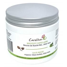 CAROLINA-B Masque capillaire KARITÉ & ALOE 200ml