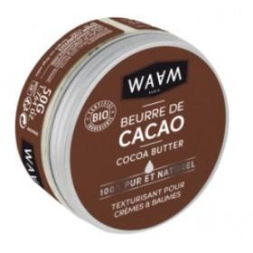 WAAM Beurre de CACAO BIO 50g